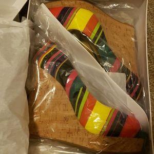 Rainbow wedges